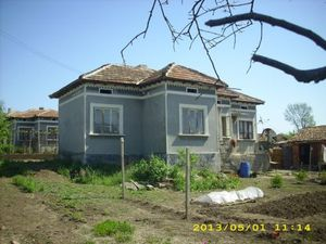 An old country house with big plot of land situated in a quiet area of a small village