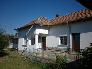 Big country house with nice yard located in a village