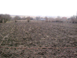 Spacious plot of land situated in village 40 km from the sea