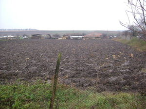 Land suitable for construction situated 30 km from the sea