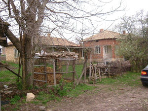 Two houses with plot of land situated 80 km from the seaside