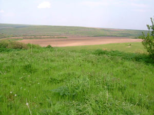 Plot of land with nice views situated in a village near sea
