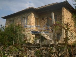 Cheap property for sale with lovely views near Popovo
