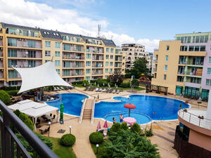 Spacious 1 bedroom apartment with pool view in Pollo Resort,