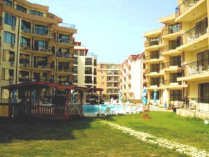 Furnished 1-bedroom apartment located in the apart-hotel Sea
