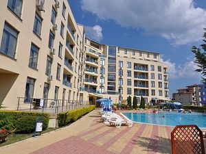 Sea view Spacious studio in Rainbow 1, Sunny Beach