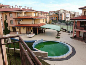 Pool view 1-bedroom apartment in Panorama Dreams, Sveti Vlas