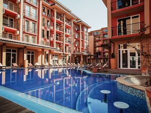 1 BED apartment, 52 sq.m., in Sunny beach resort
