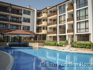 Spacious one bed room apartment at 75 m2 in Nessebar