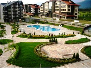 Big furnished studio in Aspen Heights, Bansko
