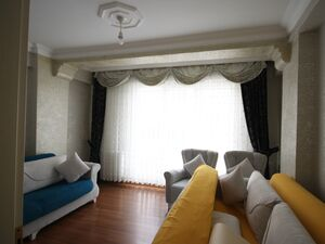 Apartment with full house supplements for sale in Istanbul