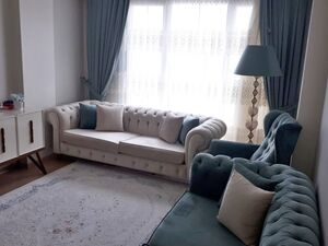An apartment with full house supplement for sale in Istanbul