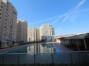 sell 1+1 flat apartment in residant locate in istanbul