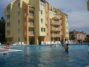 Pool view One-Bedroom Apartment in Sea Dreams Complex