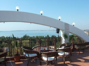 Sea view apartment with large balcony in St. Vlas