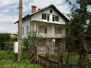 Big rural property with orchard & nice view 90 km from Sofia