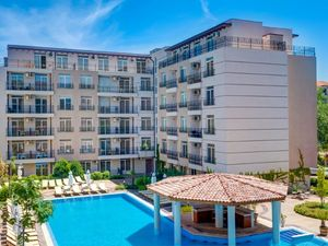 Pool view 1 bedroom apartment in Dawn Park, Sunny Beach