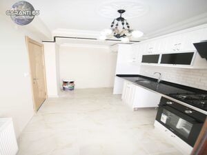 A newly built 2+1 apartment in a market area for sale