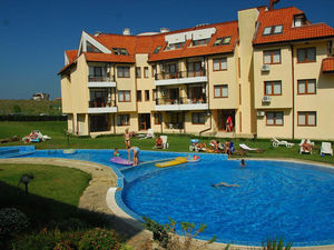 Pool view 1-bedroom apartment, Oasis Beach Resort, Varna