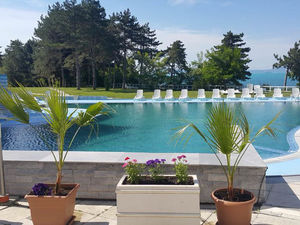 1 bedroom apartment with pool view in Blue Bay Palace