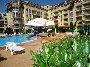 POOL VIEW 1-bedroom apartment in Summer Dreams, Sunny Beach