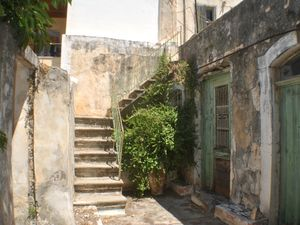 Stone House. Courtyard. Terrace. Renovation Project