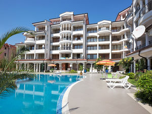 Studio apartment in Chateau Valon, 43 sq.m., Sunny beach