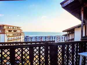 Sea and Pool view 2-bedroom apartment in Watermill complex