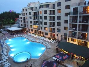 POOL View 1-bedrooom apartment in Avalon, Sunny Beach