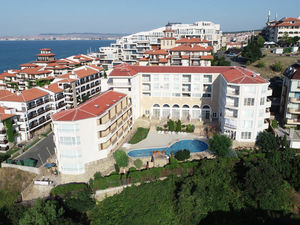Big studio with sea view in Galateya, Sveti Vlas