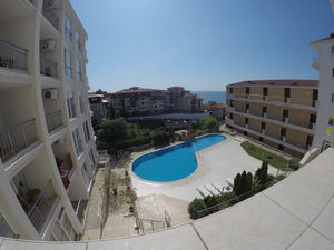 72 sq.m. 1-Bedroom apartment with pool view in Galateya