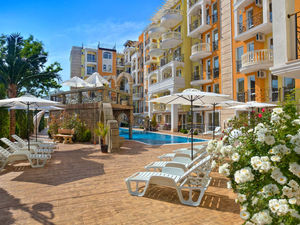 Furnished Studio for sale in Sweet Homes 2, Sunny Beach