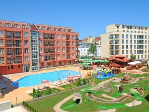 Furnished Studio with POOL view in Rainbow 2, Sunny Beach