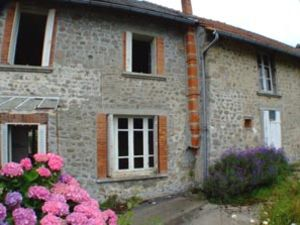Terraced house in traditional French hamlet