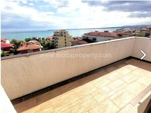 Huge studio with panoramic sea views in Saint Vlas