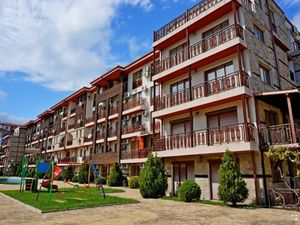 Furnished studio with sea view in Saint Vlas, 200 from beach