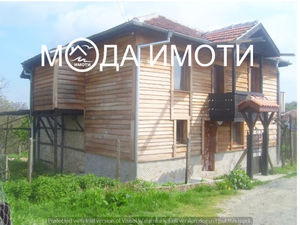 two-storey house with a yard in a nature park!