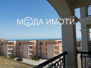 New furnished one bedroom apartment with sea view in Saint V