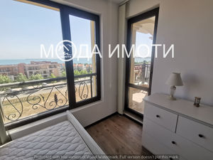One-bedroom apartment in Saint Vlas with panoramic sea view
