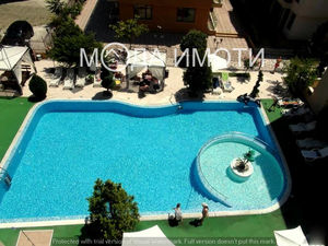 Two-bedroom apartment in a luxury complex in Sunny beach