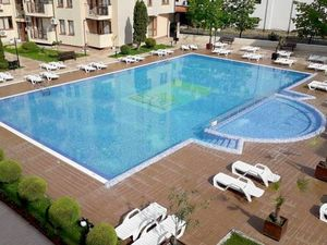 Beautifully furnished two-bedroom apartment in Sunny beach