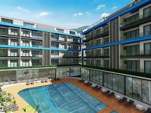 LUXURY RESIDENCES IN FULL SOCIAL FACILITIES COMPLEX FOR SALE