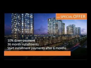 SPECIAL OFFER FOR INVEST 10%ONLY DOWNPAYMENT REST 36/MONTHS
