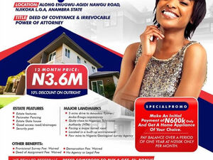 Land for Sale in Awka, Nigeria
