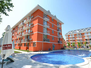 One bedroom apartment in Gerber3 Sunny Beach 700m to the sea