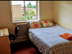 Double Room in a former student hall of residence