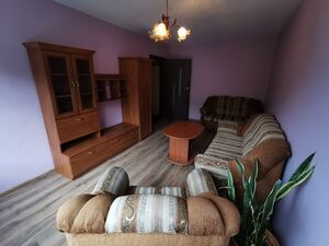 Equipped 2 rooms flat with nice wiev throut the windows in N