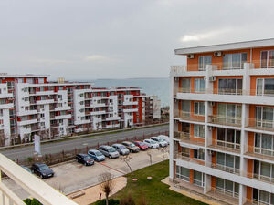 Studio with SEA VIEW in Crown Fort Club, Saint Vlas