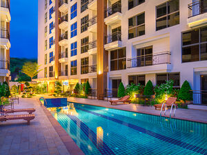 City Garden Pratumnak Condominium In Cosy Beeach
