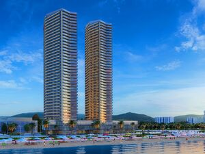 New renovated apartment in Batumi, 60 meters from the sea